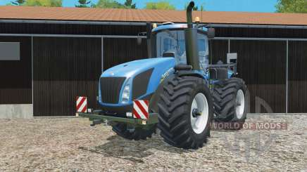 New Holland T9.565 replaced exhaust pipe for Farming Simulator 2015