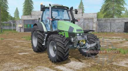Deutz-Fahr Agrotron 120 MK3 animated axle for Farming Simulator 2017