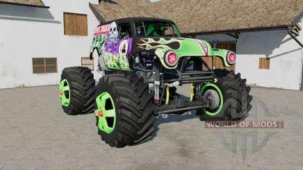 Grave Digger Monster Truck for Farming Simulator 2017