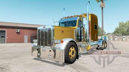 Peterbilt 379X satin sheen gold for American Truck Simulator