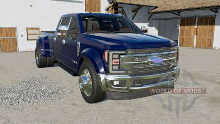 Ford F-450 with hideaway strobes for Farming Simulator 2017