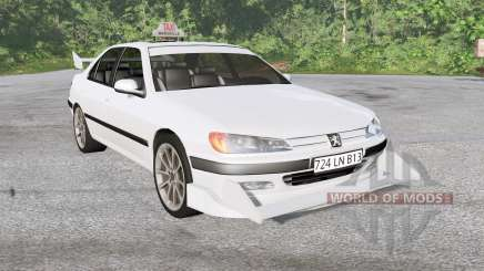Peugeot 406 Taxi for BeamNG Drive
