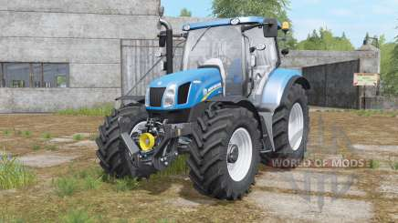 New Holland T6.140&T6.160 for Farming Simulator 2017
