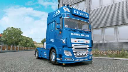DAF XF De Vries v1.2 for Euro Truck Simulator 2