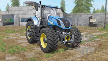 New Holland T7-series with a few modifications for Farming Simulator 2017