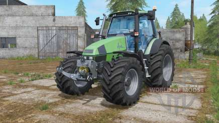 Deutz-Fahr Agrotron 120 MK3 wheels selection for Farming Simulator 2017
