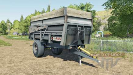Maupu 10T for Farming Simulator 2017