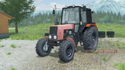 MTZ-82.1 Belarus soft-red for Farming Simulator 2013