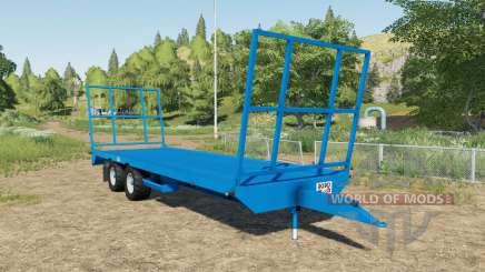 Robo bale trailer for Farming Simulator 2017
