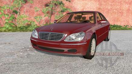 Mercedes-Benz S 600 (W220) 2002 for BeamNG Drive