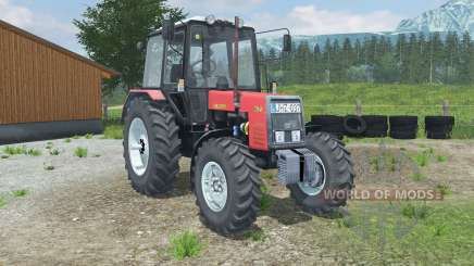 MTZ-Belarus 1025 red for Farming Simulator 2013