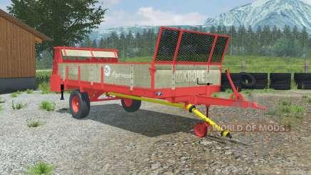 Krone Optimat 4.5 for Farming Simulator 2013