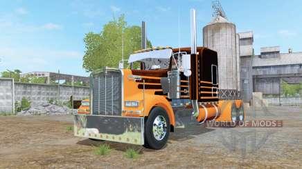 Kenworth W900 6x6 for Farming Simulator 2017