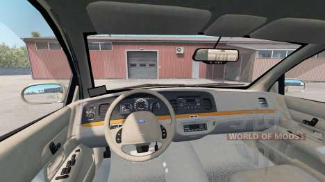 Ford Crown Victoria for American Truck Simulator