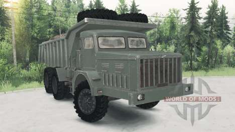 MAZ-530 for Spin Tires