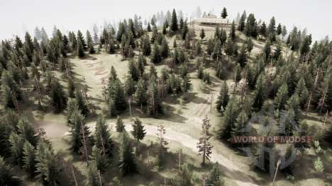 The land of a thousand lakes: Ivankol for Spintires MudRunner