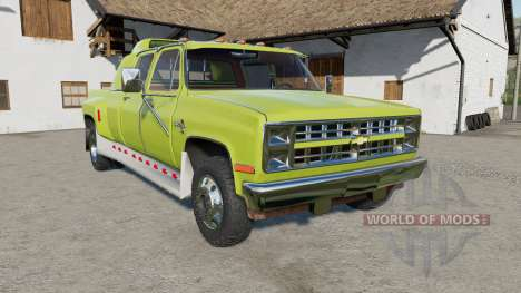 Chevrolet K30 Silverado Crew Cab Dually 1986 for Farming Simulator 2017