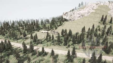 Mountain for Spintires MudRunner