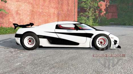 Koenigsegg Agera RS 2015 for BeamNG Drive