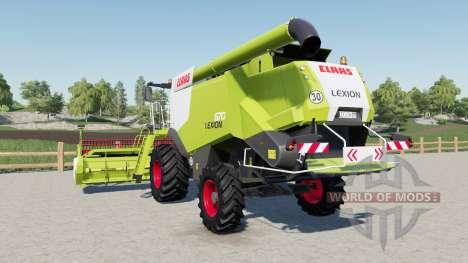 Claas Lexion 670 for Farming Simulator 2017