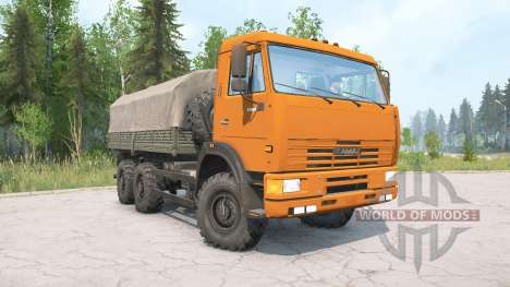 KamAZ-65115 for Spintires MudRunner
