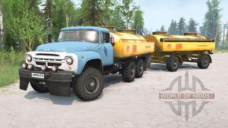 ꞫиЛ-130G 6x6 for Spintires MudRunner