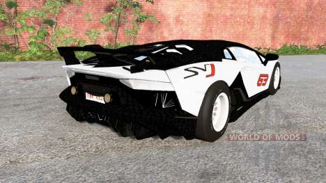 Lamborghini Aventador SVJ 2018 for BeamNG Drive