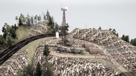 Western suburbs for Spintires MudRunner