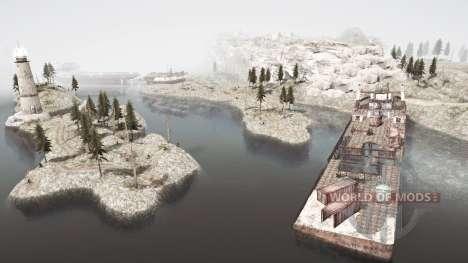 Coastal zone for Spintires MudRunner