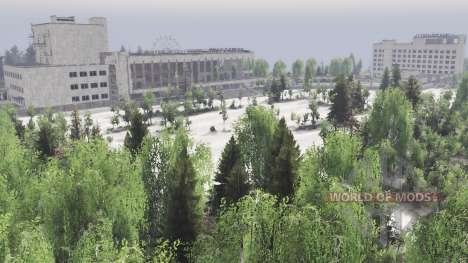 Pripyat for Spin Tires