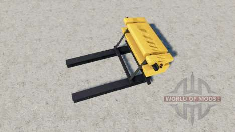 Rear Ballast Set from 1 to 5 tons for Farming Simulator 2017