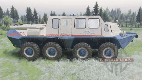 GAZ-59037 for Spin Tires
