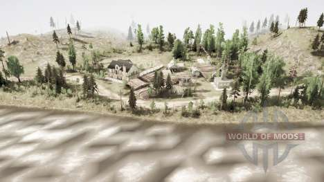 Lumberjack Semyonitch for Spintires MudRunner