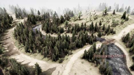 On the lip for Spintires MudRunner