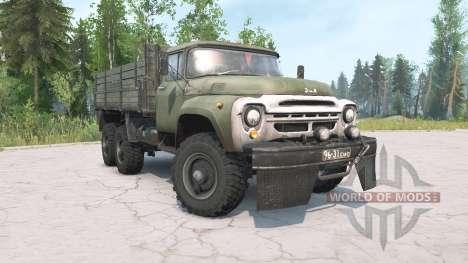ZIL-130G 6x6 for Spintires MudRunner