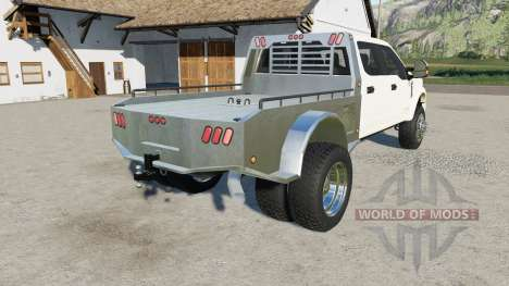 Ford F-450 Super Duty Platinum Crew Cab 2017 for Farming Simulator 2017