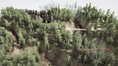 Siberia deserted for Spintires MudRunner