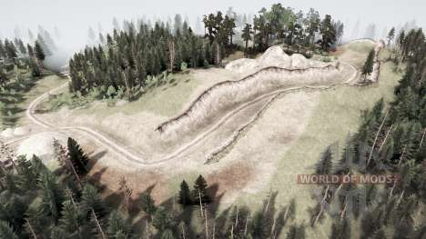 Over the mountain for Spintires MudRunner
