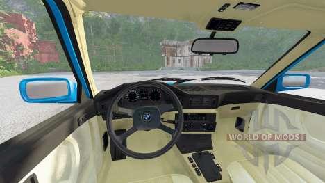 BMW M5 (E28) 1985 for BeamNG Drive