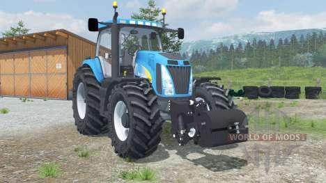 New Holland T8020 for Farming Simulator 2013