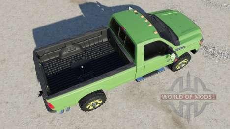 Ford F-350 Super Duty Regular Cab 2011 for Farming Simulator 2017