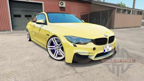 BMW M4 coupe (F82) for American Truck Simulator