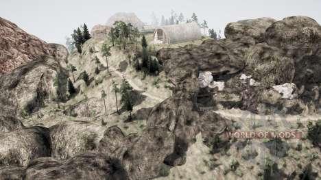 Valley 2 for Spintires MudRunner