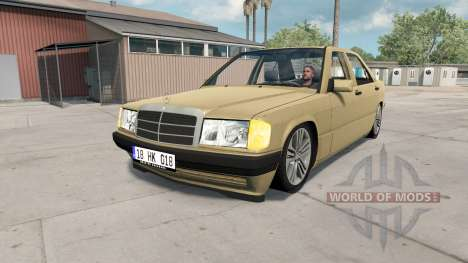 Mercedes-Benz 190 E for American Truck Simulator