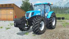 New Holland T7.220 with weight for Farming Simulator 2013