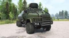 KrAZ-260 dark grayish-green for MudRunner