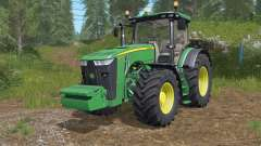 John Deere 8245Ɍ-8400Ɍ for Farming Simulator 2017