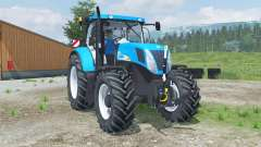New Holland T7040 front loader for Farming Simulator 2013
