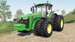 John Deeᶉe 8245R-8400R for Farming Simulator 2017