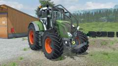 Fendt 828 Vario Forest Edition for Farming Simulator 2013